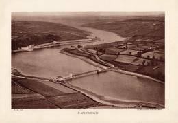 BRETAGNE, L'ABERWRACH, Planche Densité = 200g, Format 20 X 29 Cm, (Aviation Maritime Brest) - Géographie