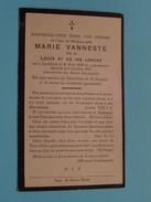 DP Marie VANNESTE ( Fille De LONCKE ) Lendelede 20 Aout 1839 - 8 Oct 1927 ( Zie Foto´s ) ! - Religion & Esotérisme