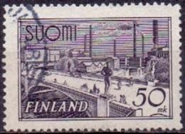 Finland 1942 50mk Gebruiksserie GB-USED