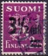 Finland 1943 Opdruk 3½mk GB-USED