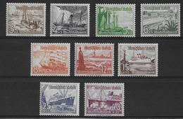 REICH - 1937 - YVERT N° 594/602 ** MNH - COTE = 110 EUR. - BATEAUX - Deutschland