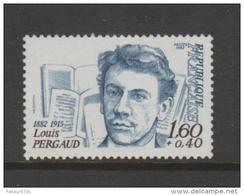 FRANCE / 1982 / Y&T N° 2227 ** : Louis Pergaud - Gomme D'origine Intacte - Frankreich