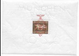 REICH - 1937 - BLOC YVERT N° 7 ** MNH - COTE = 200 EUR. - CHEVAUX