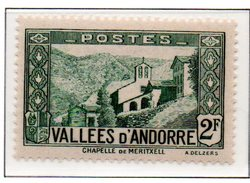 ANDORRE N°82 - Neuf * * Luxe
