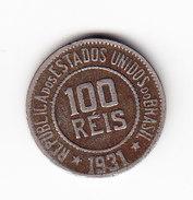 BRESIL, KM 518, XF, 100R 1931.   (MP23) - Brésil
