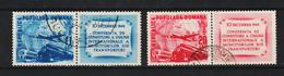 1949 - ROMANIA  Mi No 1193A/1194A