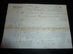 LOT DE 23 CONNAISSEMENTS MARITIMES AU DEPART DE CETTE Sète 1854 à 1859 TRANSPORTS DE VINS DIFFERENT VAPEUR NAVIRE BATEAU - Boats