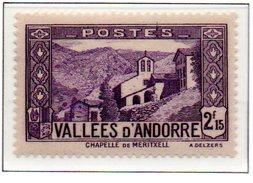 ANDORRE N°83 - Neuf *