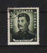 1949 - ROMANIA  Mi No 1195A  STALIN