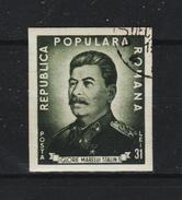1949 - ROMANIA  Mi No 1195 B  STALIN