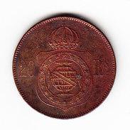 BRAZIL KM 474, XF, 20r 1869 . (PD12) - Brésil