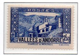ANDORRE N°87 - Neuf * * Luxe