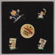 Lot 5 Pins Barcelone 1992 - Olympische Spelen