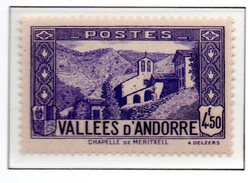 ANDORRE N°90 - Neuf * * Luxe