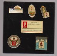 Lot 5 Pins Albertville 1992 - Olympische Spelen