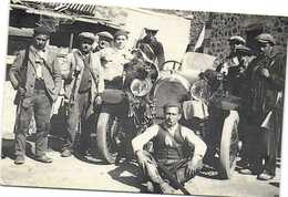 """MAURILLAS  1930 Retour De La Chasse Au Sanglier"""" Louis Badenne Et Son équipe RV  Collection J P Gros 200ex"""