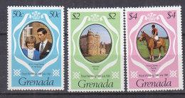 PGL DC0571 - GRENADA Yv N°976/78 ** ROYAL WEDDING - Grenada (1974-...)