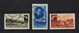 1950 - ROMANIA  Mi No 1201....1204   ANDREESCU