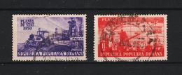 1950 - ROMANIA  Mi No 1205/1207