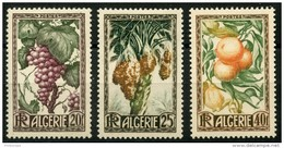 Algerie (1950) N 279 à 281 * (charniere) - Algérie (1924-1962)
