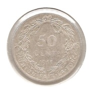 ALBERT I * 50 Cent 1911 Frans * Z.Fraai * Nr 9126 - 1909-1934: Albert I