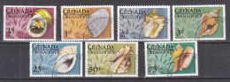 PGL DD046 - GRENADA GRENADINES Yv N°125/31 COQUILLAGES SHELS - Grenada (1974-...)