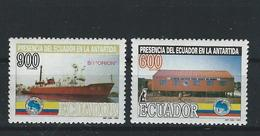 EC - 1994 - 2275-76 -   Ecuador's Presence In Antarctica   - ** -MNH - POSTFRISCH - Equateur