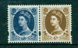 Great Britain 2003 50th Anniversary Of Coronation SG 2378-2379 Se-tennant From Prestige Booklet DX31 MNH - 1952-.... (Elizabeth II)