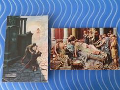 """Lot 2 Cartes """"Quo Vadis"""" - Mastroianni"""