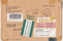 REGISTERED PREPAID COVER SENT IN GERMANY, 2006, TURKEY - Storia Postale