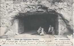 Jauche - Entrée Des Souterains Romains - Circulé En 1903 - Dos Non Séparé - Animée - TBE - Orp-Jauche - Orp-Jauche