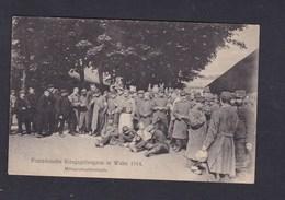 AK Guerre 14-18 Französische Kriegsgefangene In Wahn Mittagsplauderstunde Camp Prisonniers Prisonner Of War P.O.W - Deutschland