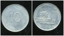 CUBA  10 Centavos 1988 - Cuba