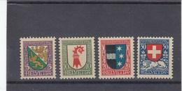 Suisse - Neufs**  -  Pro Juventute - Année 1926 - YT 222/225