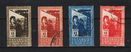 1950 - ROMANIA  Mi No 1229/1232