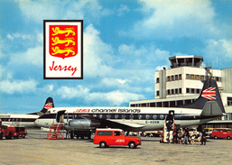 Vliegveld Jersey Airport  BEA Channel Islands       X 710 - Aeródromos