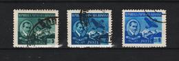 1950 - ROMANIA  Mi No 1233/1235