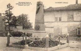 CPA - LAIMONT (55) - Aspect Du Quartier Du Monument Aux Morts Dans Les Années 20 - Otros Municipios