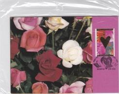 Australia Maxicards 1995 Roses - St.Valentines Day 3cards (SKO2-18)