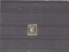 France 1849 N° 3 Oblitere - 1849-1850 Cérès