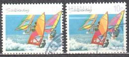 Australia 1990 - Sports - Mi.1183 A+F Perf 14:14¼ +13¼:13¾  - Used - Used Stamps