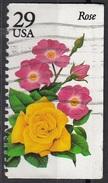 2833 Stati Uniti 1994 Fiori Flowers  Rose Rosa Viaggiato Used USA
