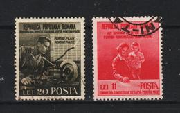 1950 - ROMANIA  Mi No 1236/1237