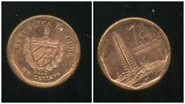 CUBA  1 Centavo 2000 - Cuba