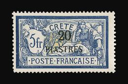 CRETE N° 16/20 Série Complète Neuve Avec Charnière. 5 Valeurs. Cote Yvert 630 €. Signé Brun. TTB - Neufs