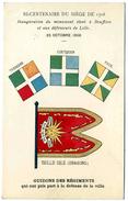 NORD    /   59   / LILLE  /  BICENTENAIRE DU SIEGE DE 1708   LILLE 1908       CPA 9 X 14