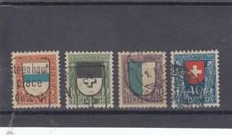 Suisse - O  -  Pro Juventute - Année 1922 - YT 188/191