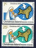 #Christmas Islands 1973. Christmas. Michel 59-60. MNH(**)