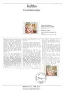 NOTICE PTT 1982 LA CHAMBRE TURQUE DE BALTHUS - Documents Of Postal Services