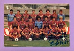 Il Torino 1981-82 - Reproductions